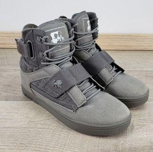 Vlado Atlas II 2 Gray Hi-Top Sneakers Shoes